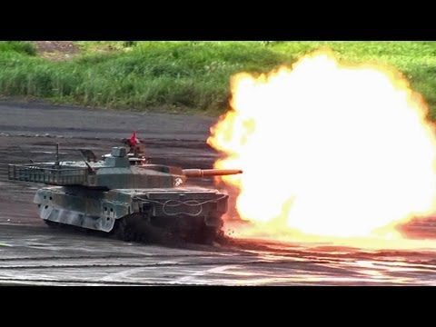 Japanese Army Firepower - Japan Ground Self-Defense Force JGSDF