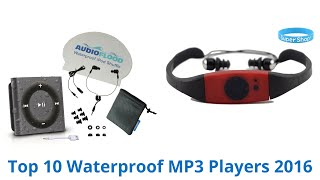 10 Best Waterproof MP3 Players 2016