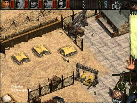 Commandos: BEL walkthrough - Operation Icarus