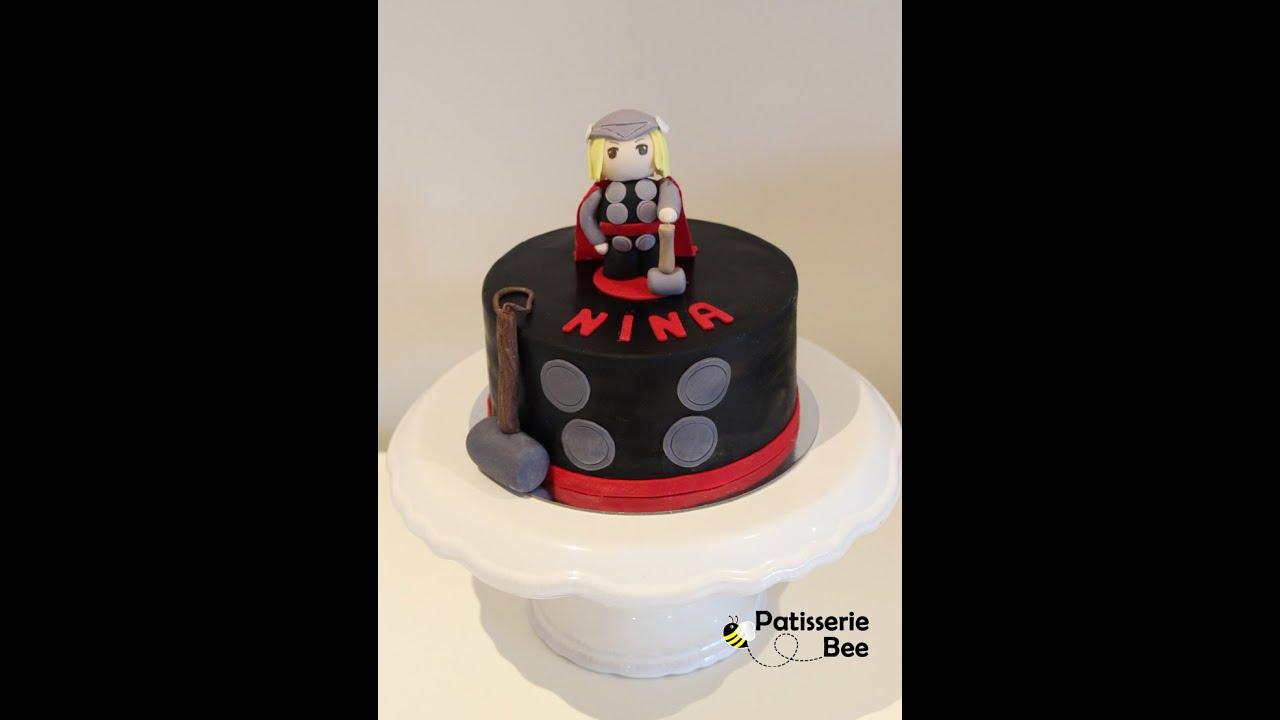 Thor cake topper tutorial - YouTube