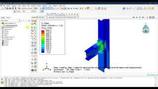 #18 ABAQUS Tutorial: Visualization and extracting results in ABAQUS