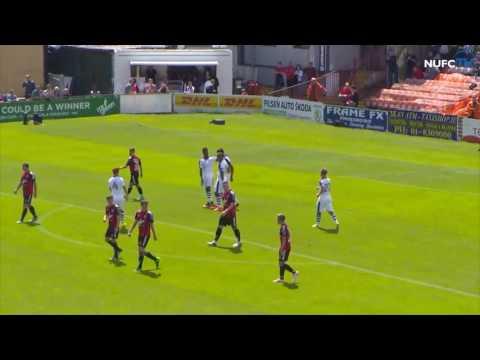 Bohemian 0-6 Newcastle United - Pre-season friendly 2016/2017
