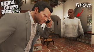 FRANKLIN becomes a GHOST HAUNTING (GTA 5 Mods)