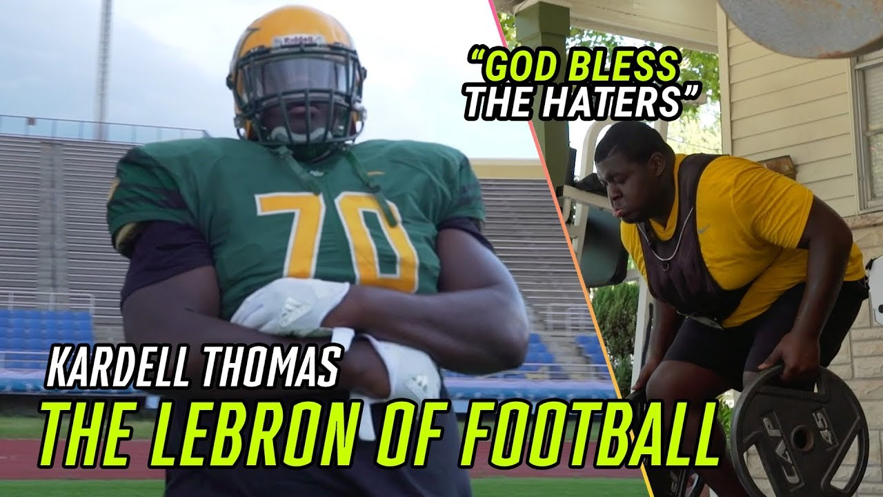 The LEBRON Of High School Football. Kardell Thomas Escaped Violence To Become A Louisiana LEGEND