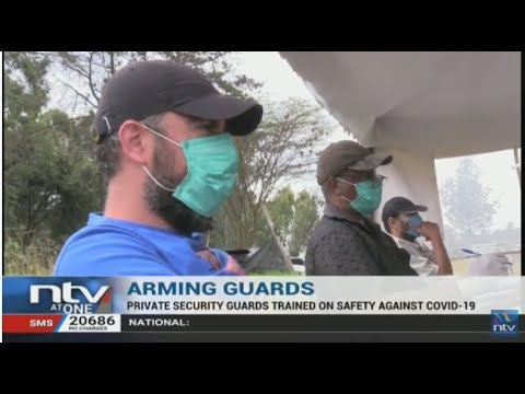 Private Security Guards Trained On How To Protect Themselves During This Crisis