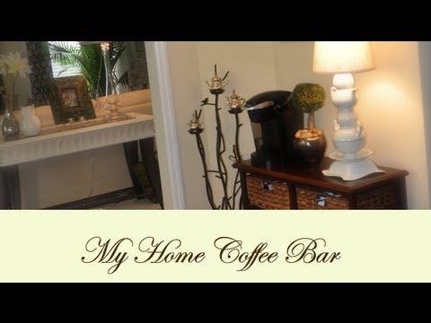 My Home Coffee Bar - YouTube