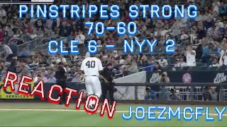 💥YANKEES LOSE PITCHERS DUEL AS SEVY GETS BIT BY HR BALL.(JOEZMCFLY VLOG)💥