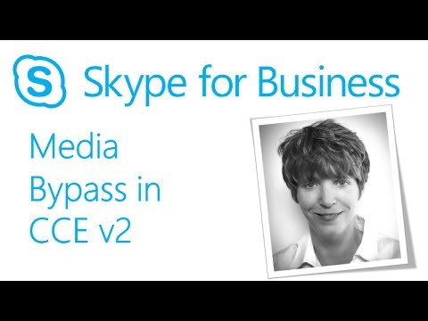 Skype Academy: Media Bypass in Cloud Connector Edition V2
