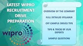WIPRO – Recruitment Notification 2018, IT Jobs, Walkin, Career