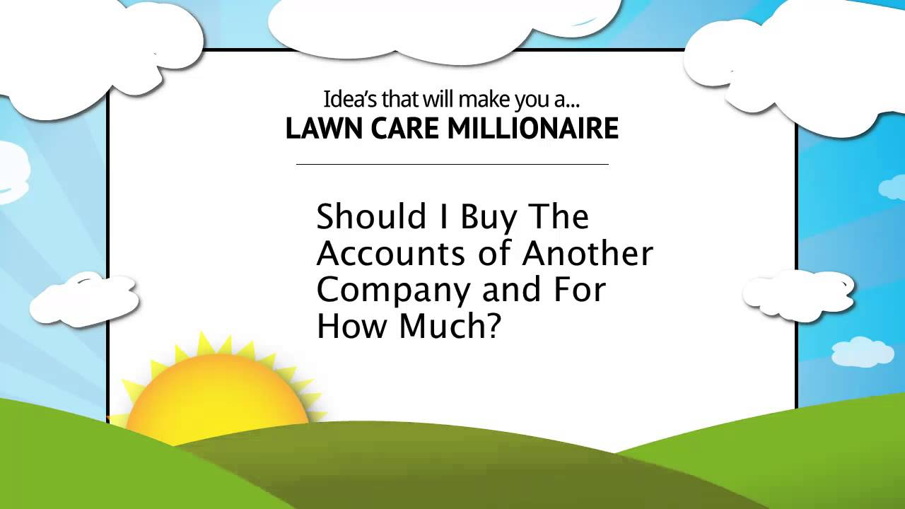 How To Buy Lawn Care Accounts and Used Equipment Advice ...