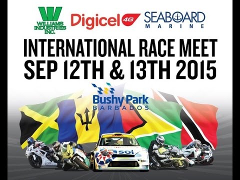 CMRC 2015 Preview Bushy Park Barbados  (Race1)