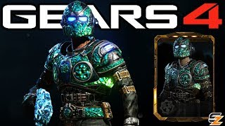 "Gears of War 4 - ""Emerald Gear"" Character Multiplayer Gameplay! (Ranked Season 5 DLC)"