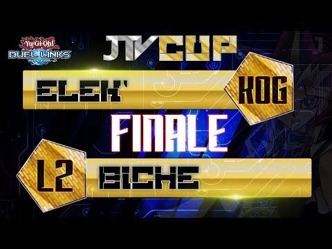 #JTvCUP - Yu-Gi-Oh! Duel Links | FINALE | Elek' Vs Biche
