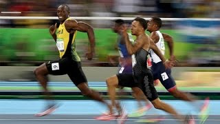 Usain Bolt Wins Gold In 100m Race - Rio Olympics 2016
