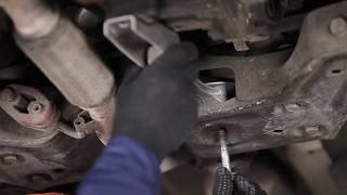 Replacing Gearbox Mount yourself video instruction on SKODA FABIA