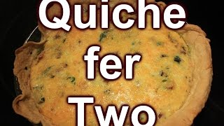 Breakfast for Two ~ Quiche ~ Easy ~ Collab w/ SeeJaneDrill