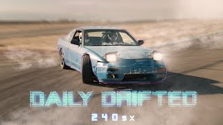 Daily Drifted 240sx chased with Fpv drones!