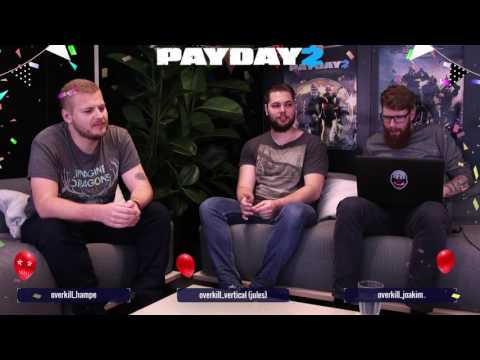 PAYDAY 2 - OVERKILL Software AMA