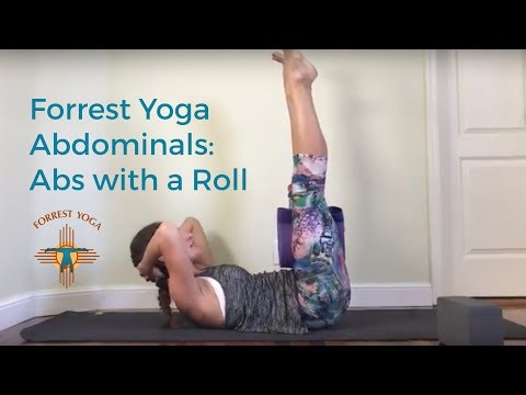 Forrest Yoga Abdominals: Abs with a Roll (or Block)