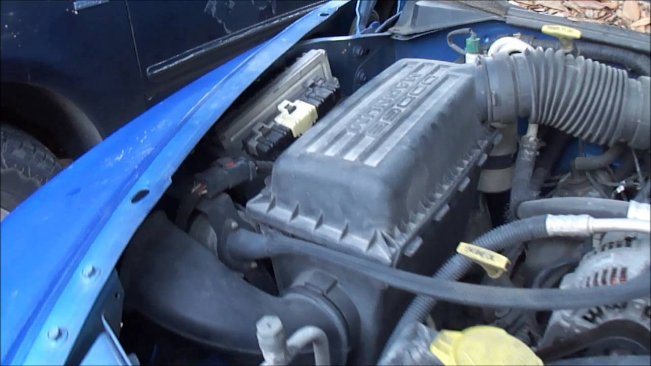2001 Dodge Dakota Ecm Pcm P0601 Code Youtube