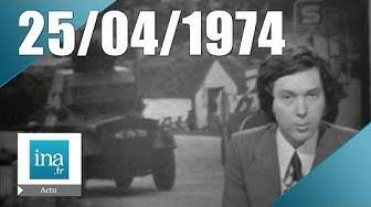 24h sur La Une 25 avril 1974 - Coup d'état au Portugal | Archive INA