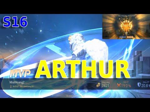 Liên quân mobile | Arthur MVP mùa 16 ❤ Hoàng Anh Liên Quân