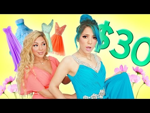 Thumbnail: TRYING ON PROM DRESSES UNDER $30!!