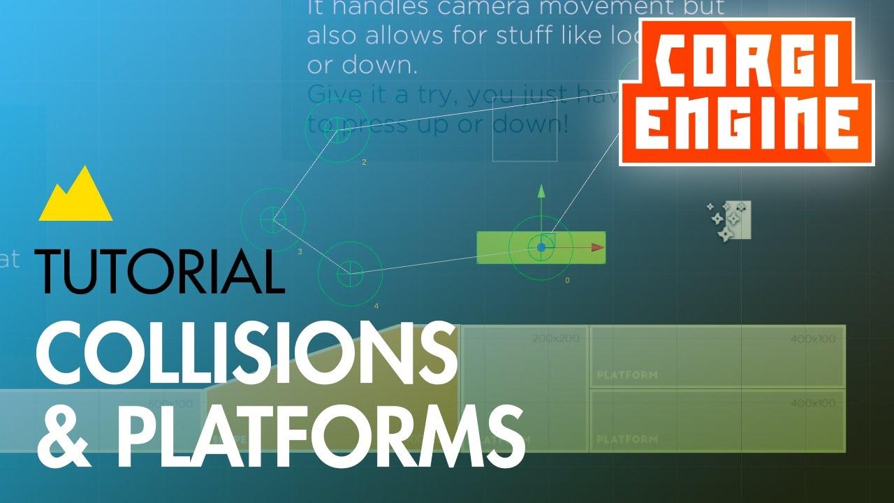 Collisions | Corgi Engine Documentation
