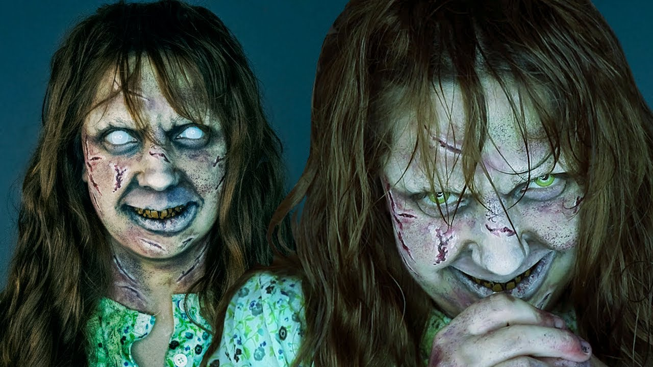 The exorcist makeup tutorial! Youtube.