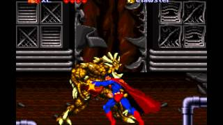 The Death and Return of Superman - Death and Return of Superman, The (SNES) - Superman Vs Clawster-Vizzed.com - User video