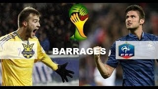 Ukraine - France [FIFA 14] | Barrages Coupe du Monde 2014 (Match Aller) | CPU Vs. CPU