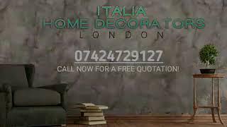 IHD London decorators.painting decorating solutions.Italian Home Decorators