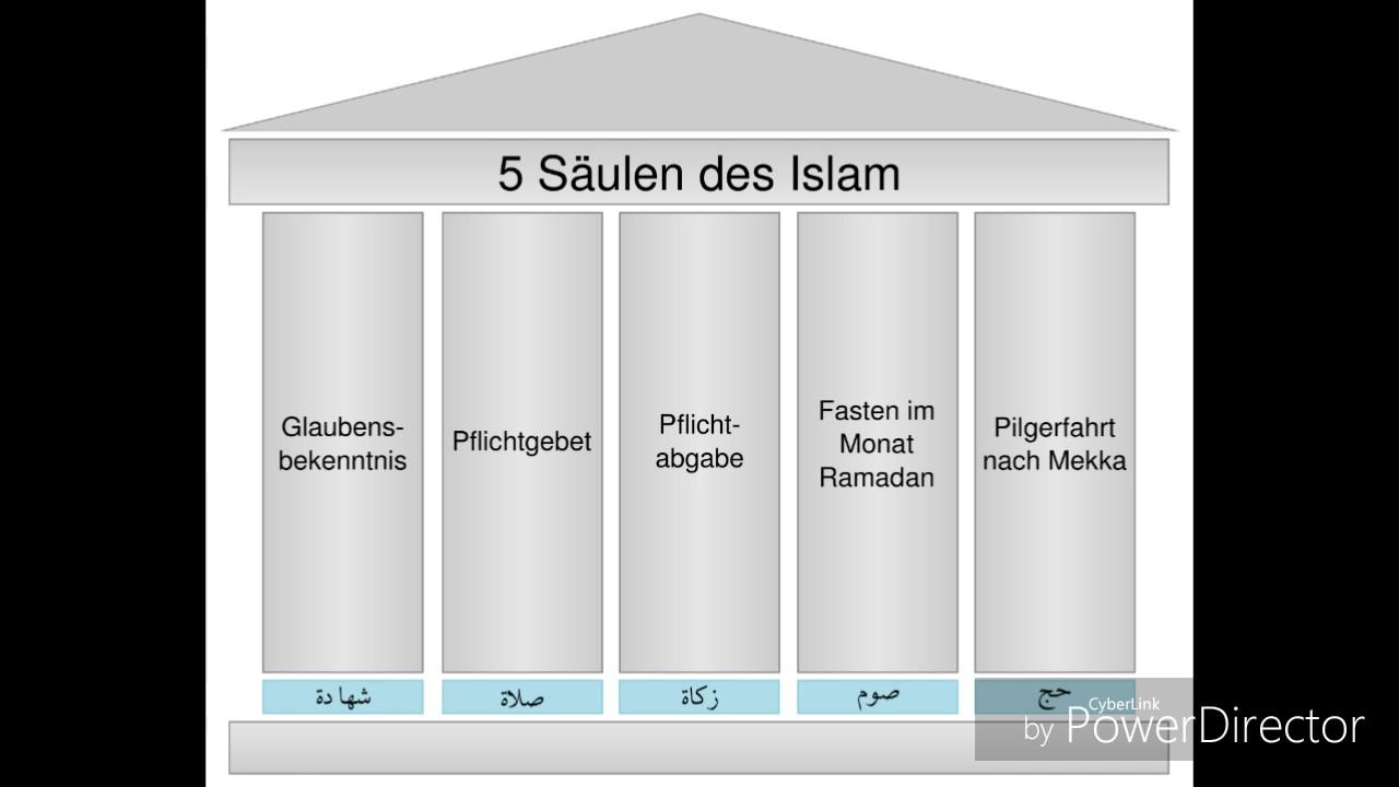 5 s ulen des islams und 6 s ulen des iman youtube. Black Bedroom Furniture Sets. Home Design Ideas