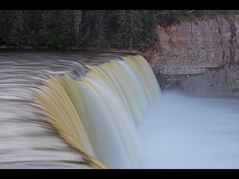Lady Evelyn Falls in Canada's Northwest Territories