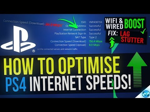 🔧 How To Boost PS4 Internet Speed - Faster Downloads, Lower Ping And Fix LAG!