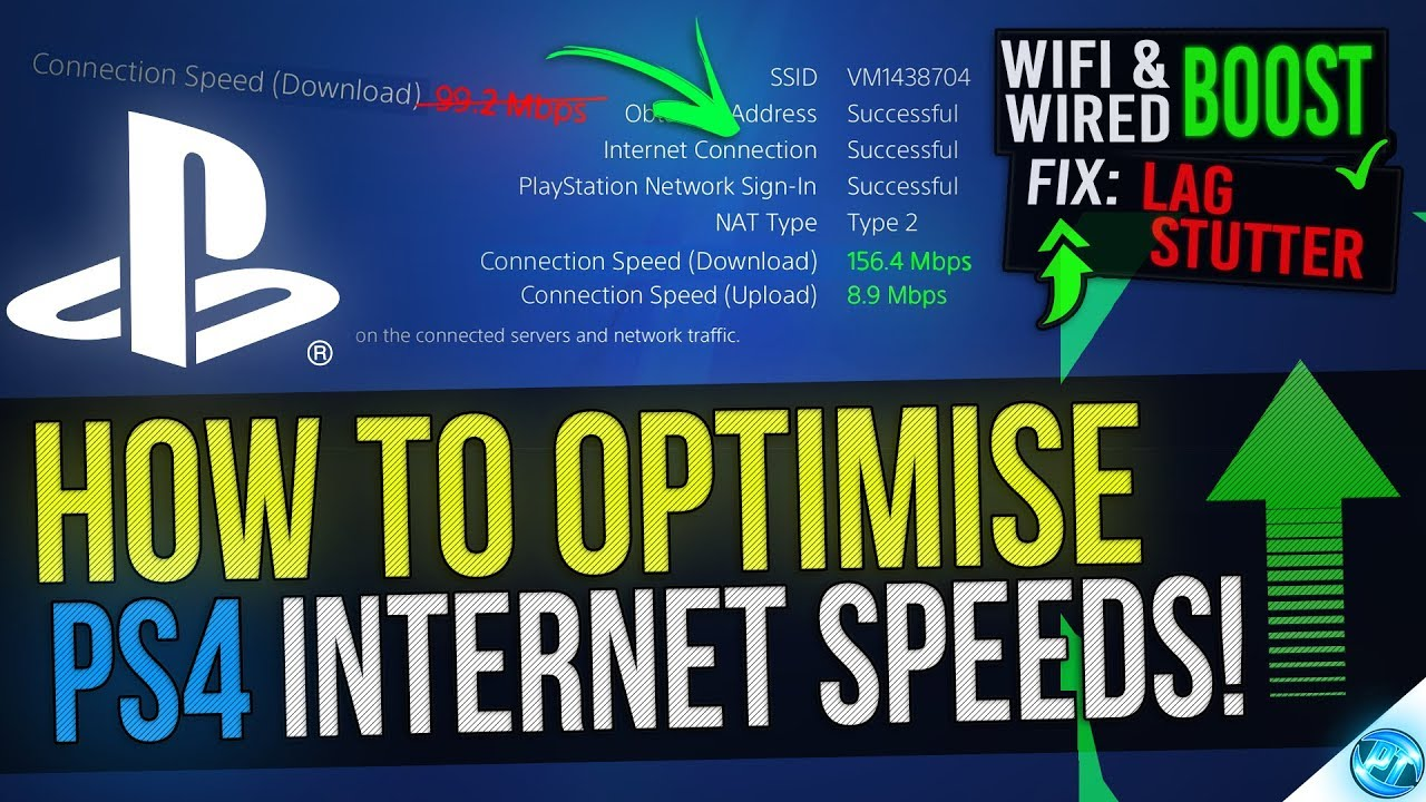 how to boost ps4 internet speed faster downloads lower ping and fix lag - fortnite internet speed