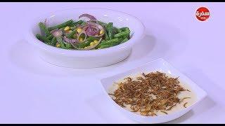كشك بالدجاج - سلطة فاصوليا خضراء | طبخة ونص (حلقة كاملة)