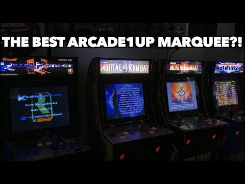 New Arcade1Up Marquee Review | It's Awesome! from Killer Arcade Games
