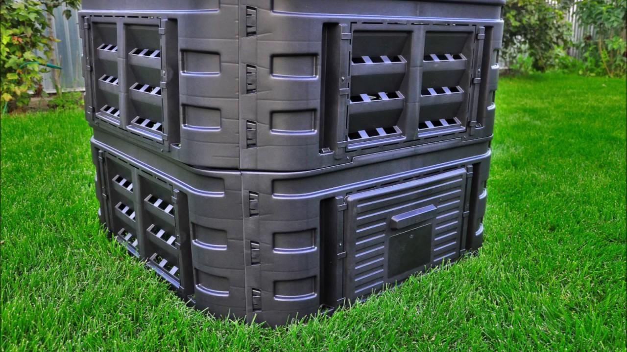 Компостный ящик пластиковый отзывы фото