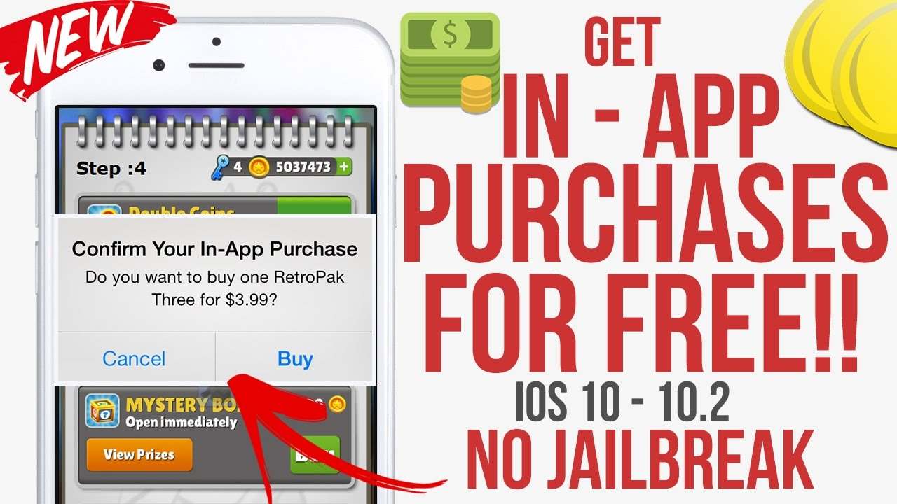 Get In-App Purchases Free IOS 12 1 - 12 1 1 Pre-Hacked Games No Jailbreak  No Computer