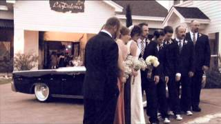 The Vintage Entourage Lincoln Bride & Groom