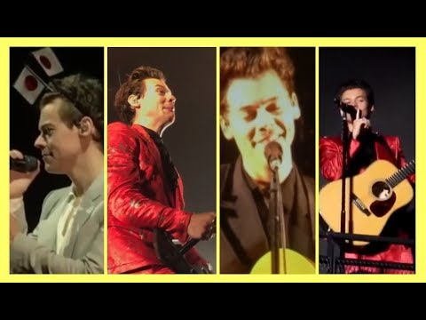Harry Styles - Hot, cheeky and funny tour moments |PART 9|