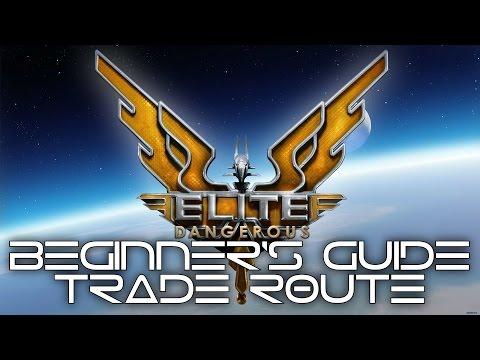 Elite Dangerous - Type 7 Fit, 4.8m/hr Trade Route!