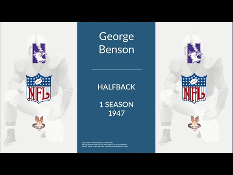 George Benson: Football Halfback