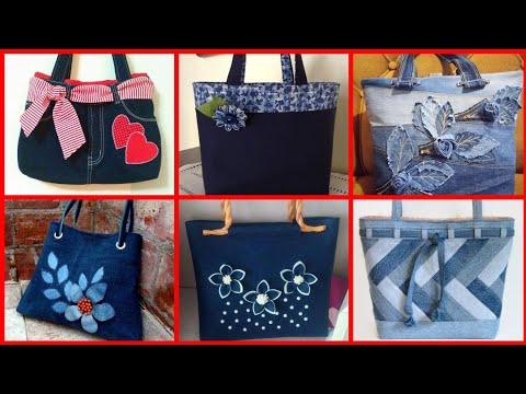 Most beautiful unique and trendy denim bag designs ideas