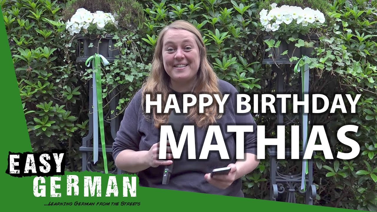 Its Mathias 30th Birthday Lets Surprise Him With Tons Of Good
