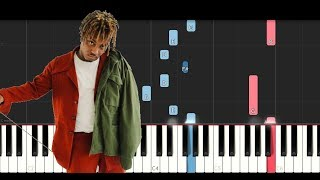 Juice Wrld All Girls Are The Same Piano Tutorial.mp3
