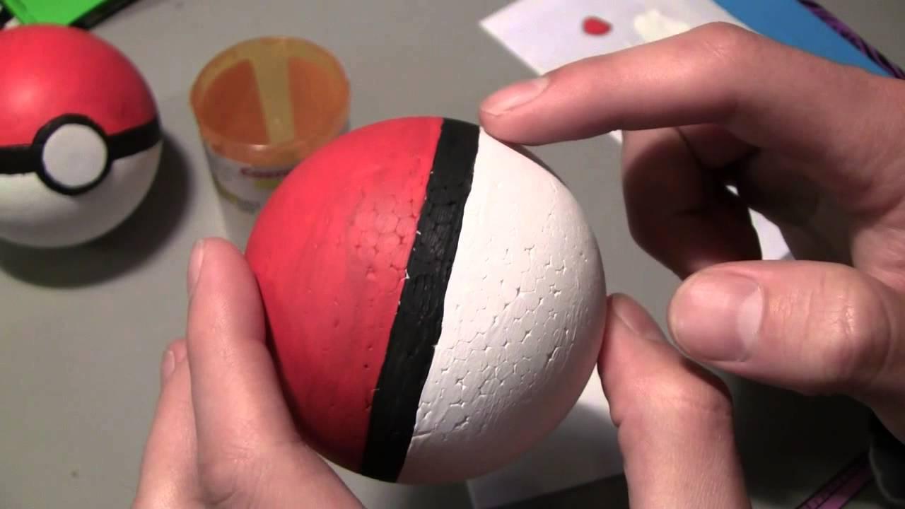 How To Make Pokeballs Youtube