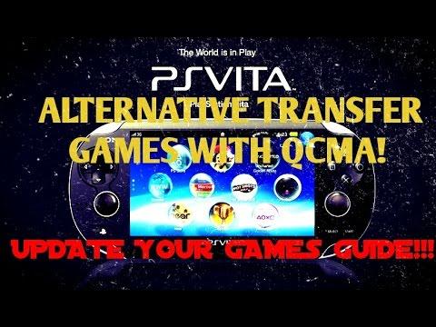 PS Vita 3 60! QCMA Vita Game Transfer Tutorial & How to Install VPK Game  Updates Guide!