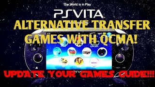 PS Vita 3.60! QCMA Vita Game Transfer Tutorial & How to Install VPK Game Updates Guide!